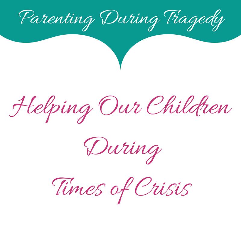 Helping Kids During Crisis